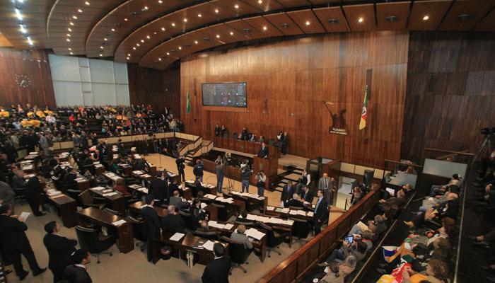 Plenário da Assembleia.