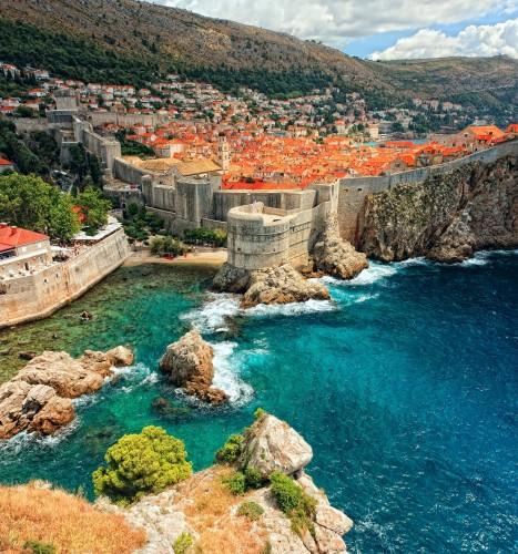 Em Dubrovnik foram gravadas cenas do seriado. Foto: Janaína Brentano/Divulgação