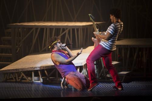 """""""Cazuza, Pro Dia Nascer Feliz, o Musical"""". Foto: Leo Aversa/Divulgação"""