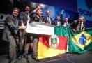Equipe Scania Brasdiesel, de Ijuí, foi campeã nacional e ficou em segundo na final regional. Foto: Divulgação