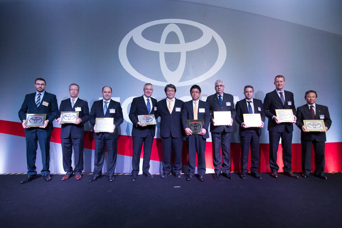 Marca japonesa premiou empresas nas categorias Qualidade, Logística e Custo pelos serviços prestados em 2014. Foto: Divulgação