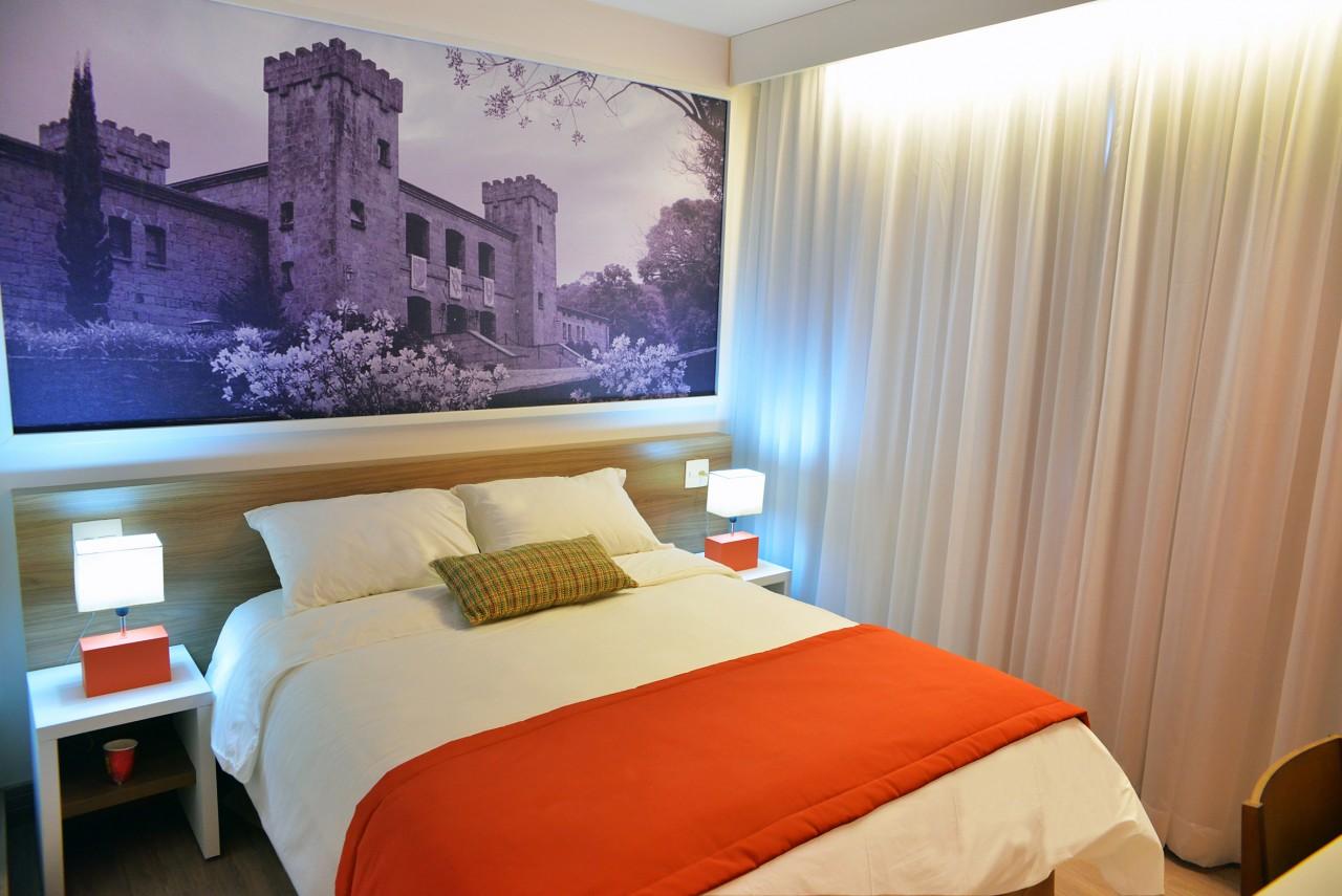 Hotel Super 8, em Caxias do Sul