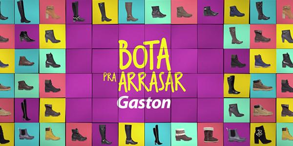 7d44a3f16 Gaston realiza campanha de promoção de Botas. Quem assina é a Competence