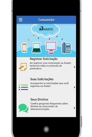 Serviço permitirá registrar reclamações e conferir direitos do consumidor FOTO: Anatel
