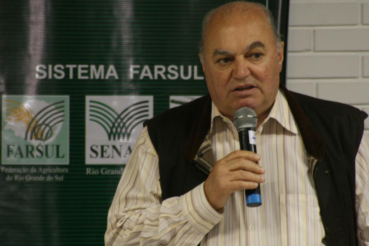 Presidente da Farsul, Carlos Sperotto