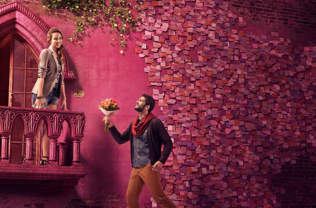 campanha namorados Bourbon Shopping
