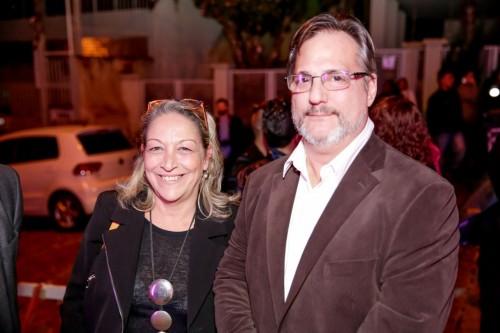 Ana Fagundes e João Ruy Freire prestigiaram o evento. (Foto: Vini Dalla Rosa/divulgação)