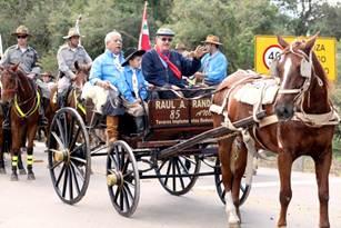 Cavalgada de Raul Randon em 2014