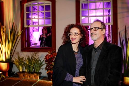 Débora Rodrigues e Dilmar Messias estiveram no Solar Paraíso. (Foto: Vini Dalla Rosa/divulgação)