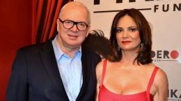 Luiza e o empresário Lírio Albino Parisotto (Foto: Reprodução)