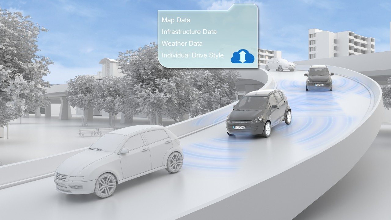 ZF PreVision Cloud Assist SUV