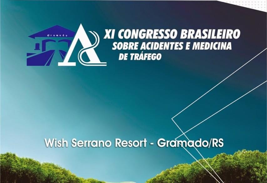 11º Congresso Brasileiro sobre acidentes e Medicina de Tráfego