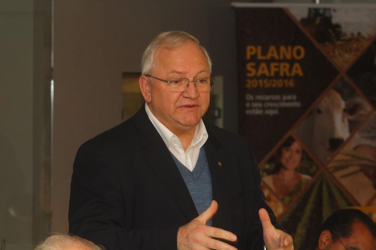 diretor executivo da Central Sicredi Sul, Gerson Seefeld.