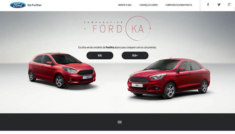 Site Ford Ka e Ka+
