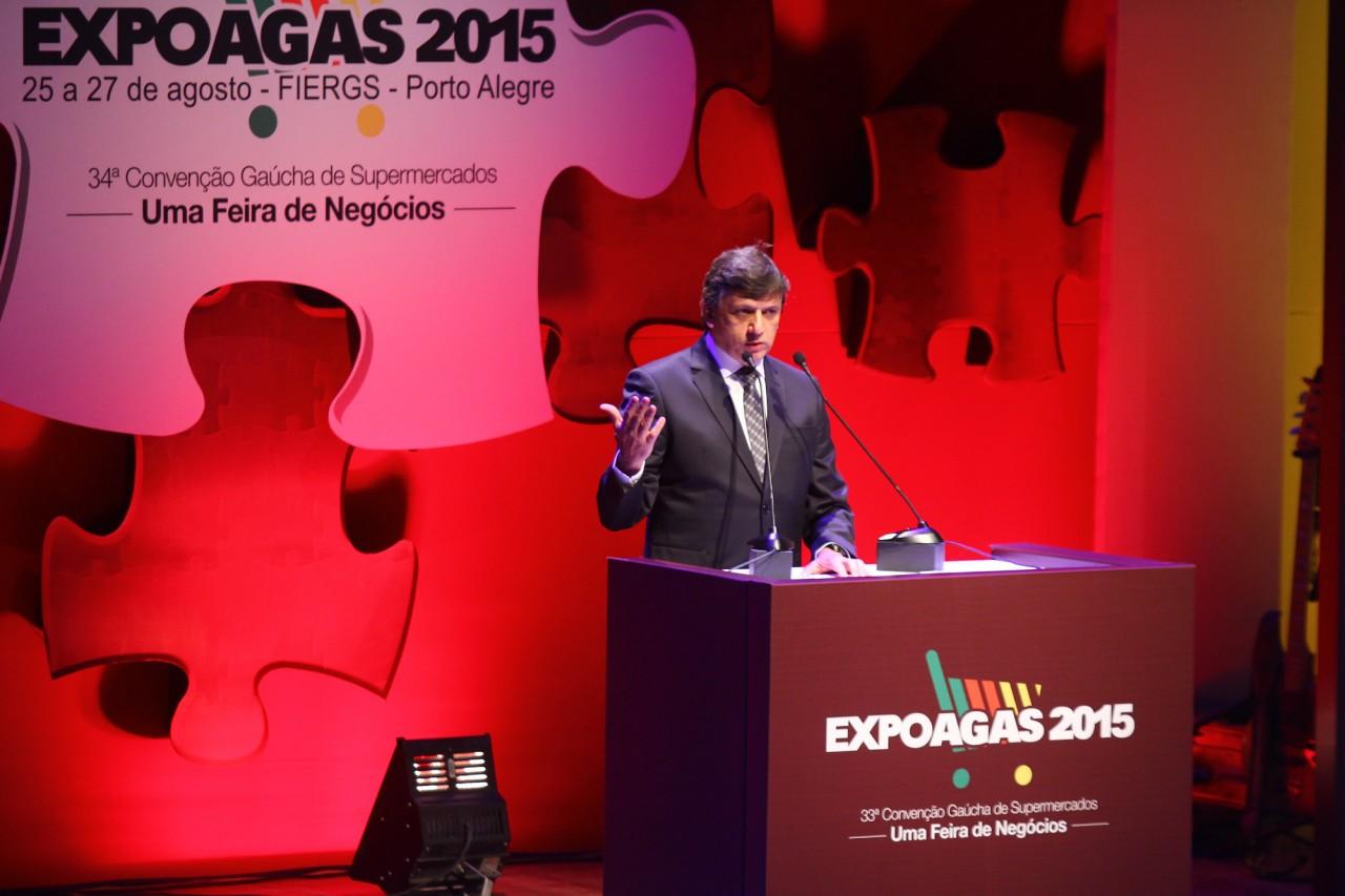 Abertura Expoagas 2015