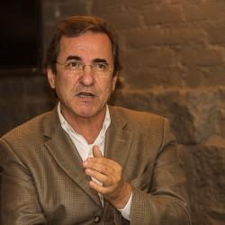 O leiloeiro Fábio Crespo acredita que a pecuária vive um momento excelente que deve motivar as vendas do Leilão de Rústicos. FOTO: Jackson Ciceri (o Sul)