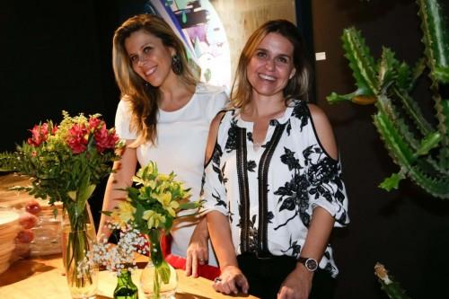 Ana Alice Soares e Samantha Laura Pinto. (Foto: Lenara Petenuzzo/especial)