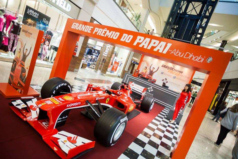 Fórmula 1 Ferrari 138, 2013 Dia dos Pais Moinhos Shopping 2015 Super Carros