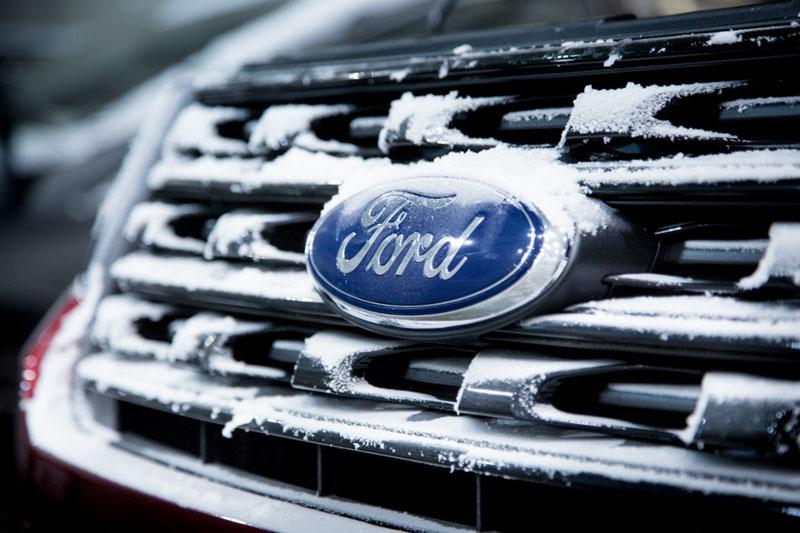 Ford realiza testes no frio extremo nos EUA 2015