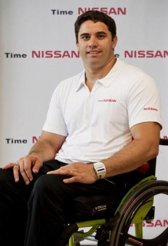 Jovane Guissone é esgrimista paraolímpico e medalhista de ouro nos jogos de Londres 2012