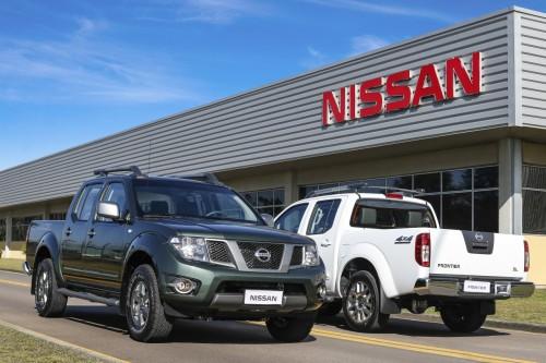 Nissan Frontier 2016. Foto: Divulgação