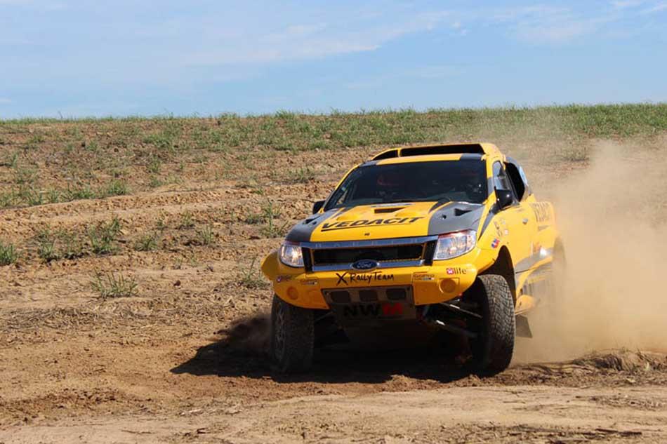 Ford Ranger V8 Rally dos Sertões 2015