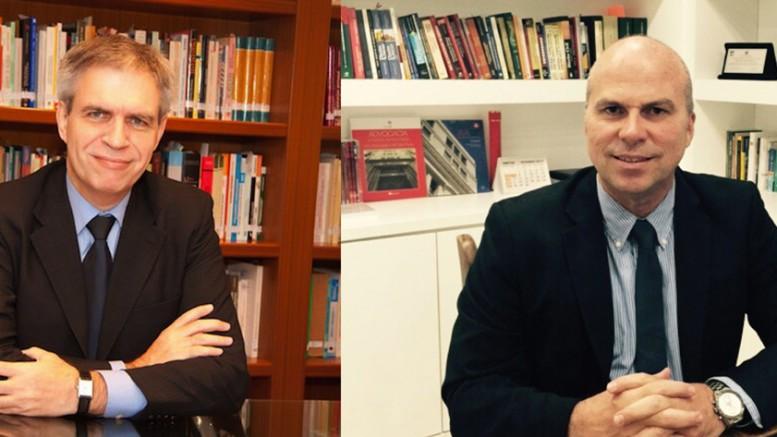Rolf Madaleno e Eduardo Eduardo Lemos são os organizadores da obra. (foto: divulgação)