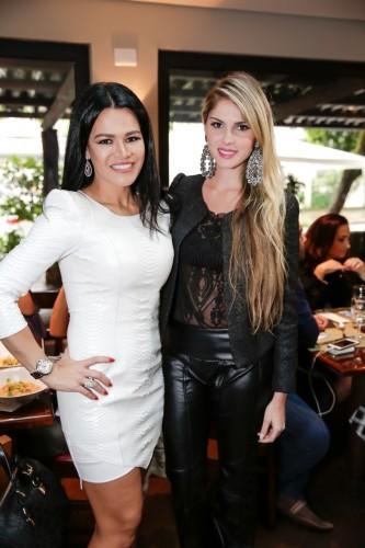 Rosa Leal e Bárbara Evans. (Foto: Vini Dalla Rosa/divulgação)