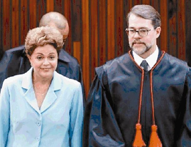 Dilma e Dias Toffoli