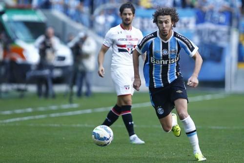 Galhardo fez falta contra o Palmeiras. (Foto: Lucas Uebel/Grêmio)
