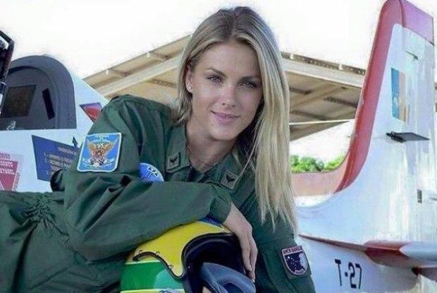 Ana Hickmann é confundida com piloto que bombardeou o Estado Islâmico 22436bd6e9