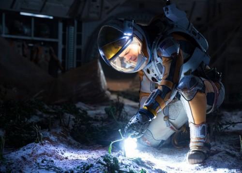 Personagem de Matt Damon tenta sobreviver no Planeta Vermelho. (foto: reprodução)