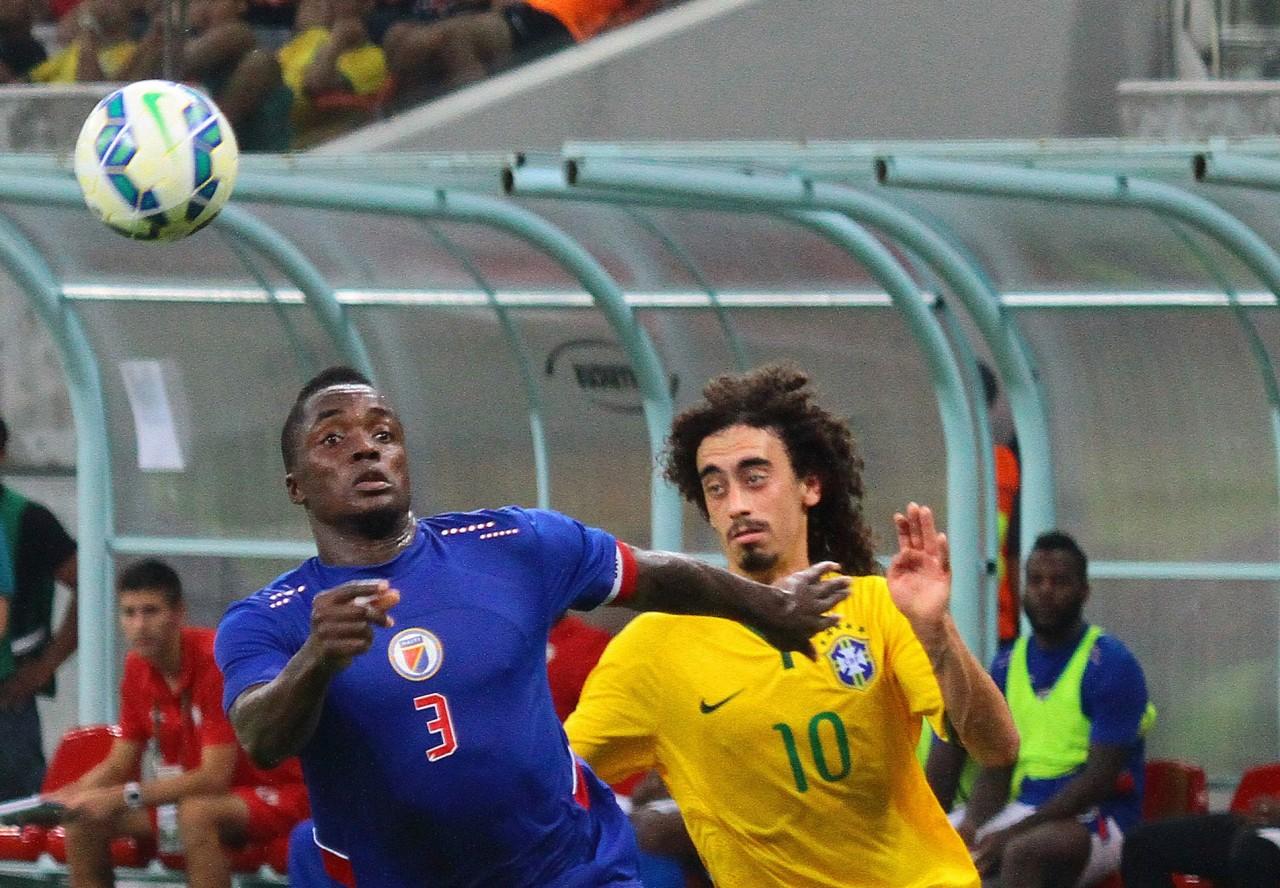 Seleção brasileira olímpica goleia o Haiti por 5 a 1 - Jornal O Sul 875d699c6f54f