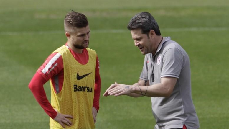 Sasha pode ganhar mais alguns minutos de jogo contra o Goiás, no domingo. (Foto: Itamar Aguiar/Agência Freelancer)