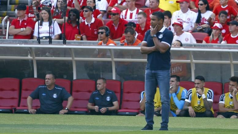 Técnico Roger terá a semana completa para treinamentos. (Foto: Lucas Uebel/Grêmio)
