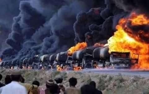 Extremistas usavam cargueiros para contrabandear petrõleo. Foto: Reprodução