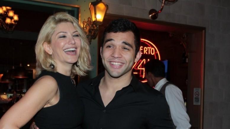 Antonia e Jonathan vão casar no dia 12 de dezembro. (Foto: Reprodução)