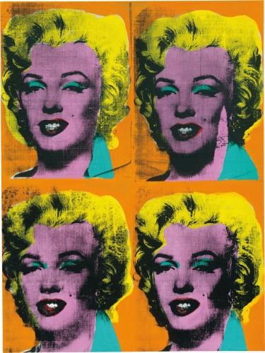 Andy Warhol pintou quadros da estrela após se impressionar com a sua morte precoce. (Foto: Reprodução)