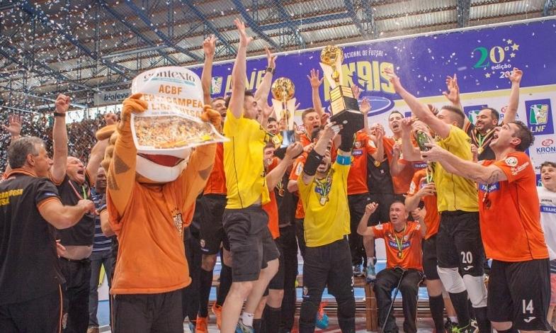 ACBF é pentacampeã da Liga Futsal 0ec5196f08031