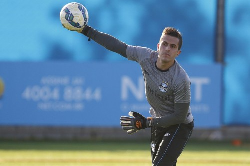 Marcelo tem mais cinco anos de contrato com o Tricolor. (Foto: Lucas Uebel/Grêmio)