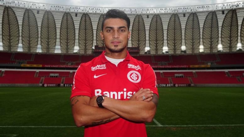 Jogador é sobrinho do ex-lateral da dupla Gre-Nal, Paulo César Magalhães. (Foto: Ricardo Duarte/Inter)