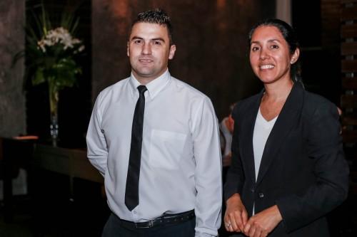 Maria Sara Mateo Disanti e Sergio Ávila: atuação irreparável. (Foto: Lenara Petenuzzo/especial)