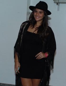 Giulia Costa com modelito country. (Foto: Reprodução)