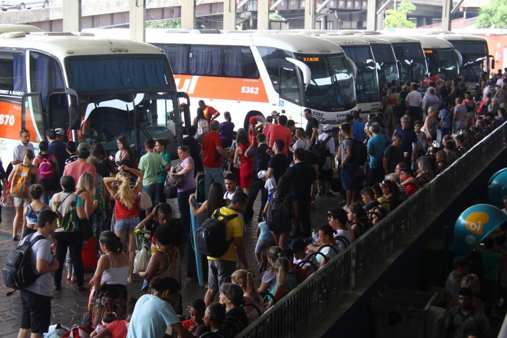 Rodoviária de Porto Alegre deve registrar grande movimento em razão do feriadão de 1º de maio (Foto: Banco de Dados)
