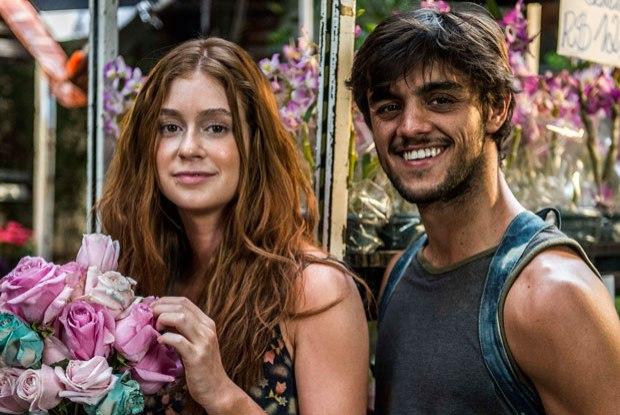 """""""Totalmente Demais"""" marca a estreia de Marina Ruy Barbosa como protagonista, ao lado de Felipe Simas. (Foto: Reprodução)"""