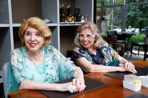 Maria Thereza Druck Bastide e Suely Pereira Lima. (foto: Lenara Petenuzzo/especial)