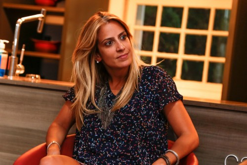 Camila Hauck, do Bendita Horta, esteve no encontro que debateu a preocupação com a melhora na vida saudável. (Foto: Lenara Petenuzzo/especial)