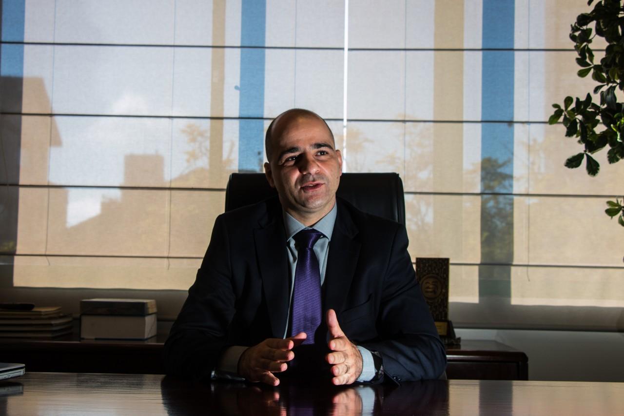 Diogo Chamun é o presidente do Sescon-RS. A entidade  é a principal mantenedora do OSPOA. Foto: Jackson Ciceri/O SUL