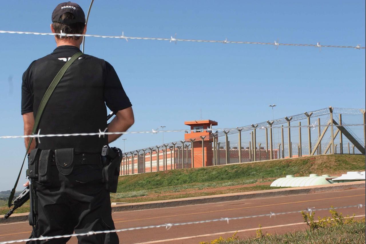 Presídio Federal de Catanduvas, no Paraná  (Foto: Edson Mazzetto/AG)