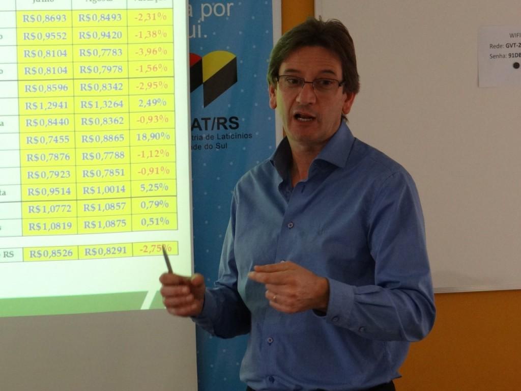 Alexandre Guerra, presidente do Sindilat fOTO: Carolina Jardine/ Sindilat